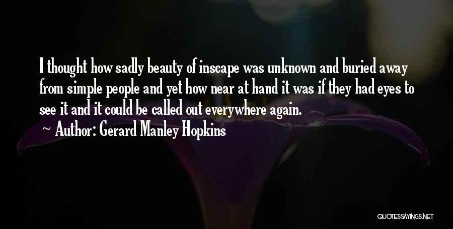 Gerard Manley Hopkins Quotes 1716387