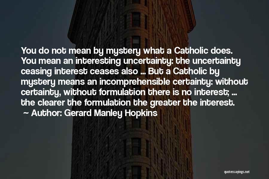 Gerard Manley Hopkins Quotes 176349
