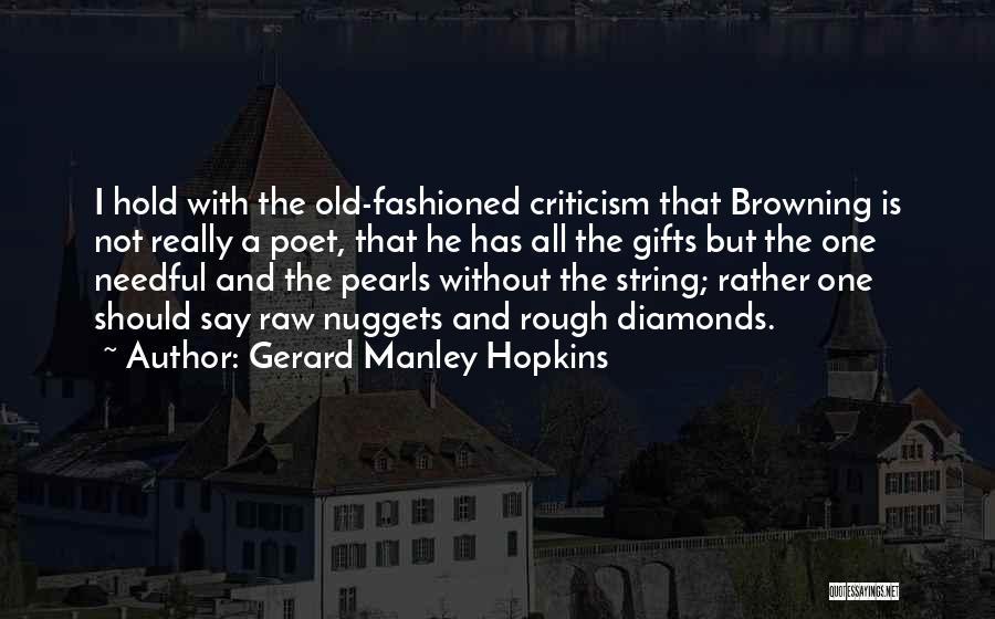Gerard Manley Hopkins Quotes 1962353