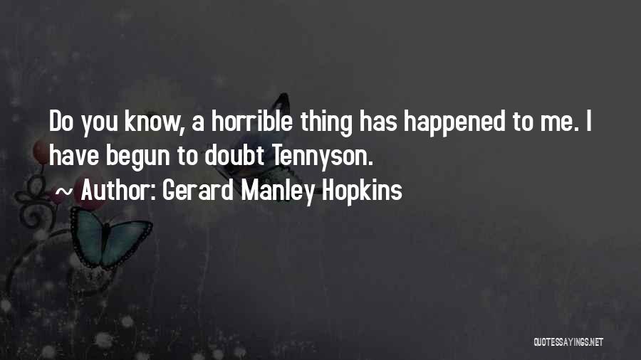 Gerard Manley Hopkins Quotes 2092447