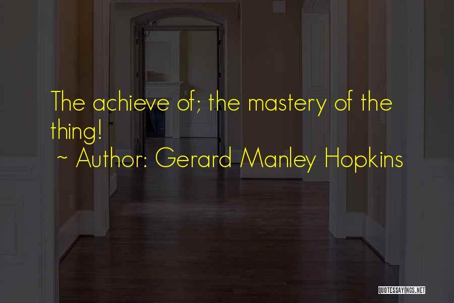 Gerard Manley Hopkins Quotes 309830