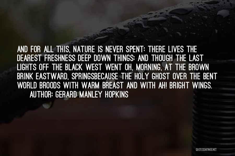Gerard Manley Hopkins Quotes 362249