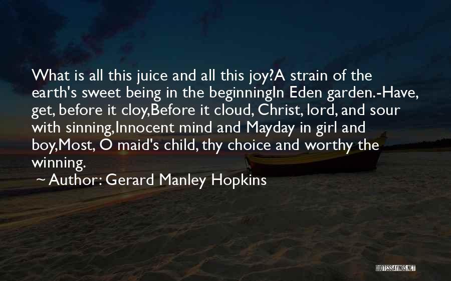 Gerard Manley Hopkins Quotes 412395