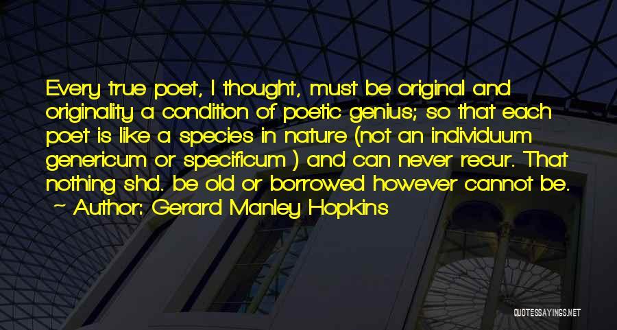 Gerard Manley Hopkins Quotes 420938