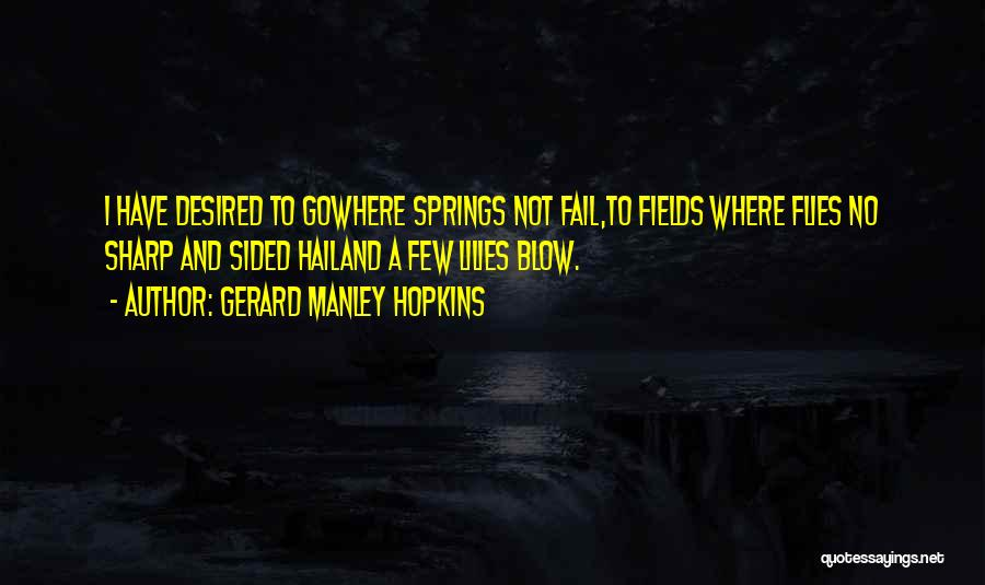 Gerard Manley Hopkins Quotes 470858