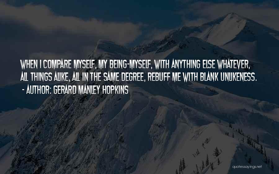 Gerard Manley Hopkins Quotes 499271