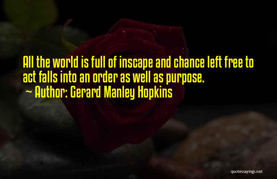 Gerard Manley Hopkins Quotes 530908