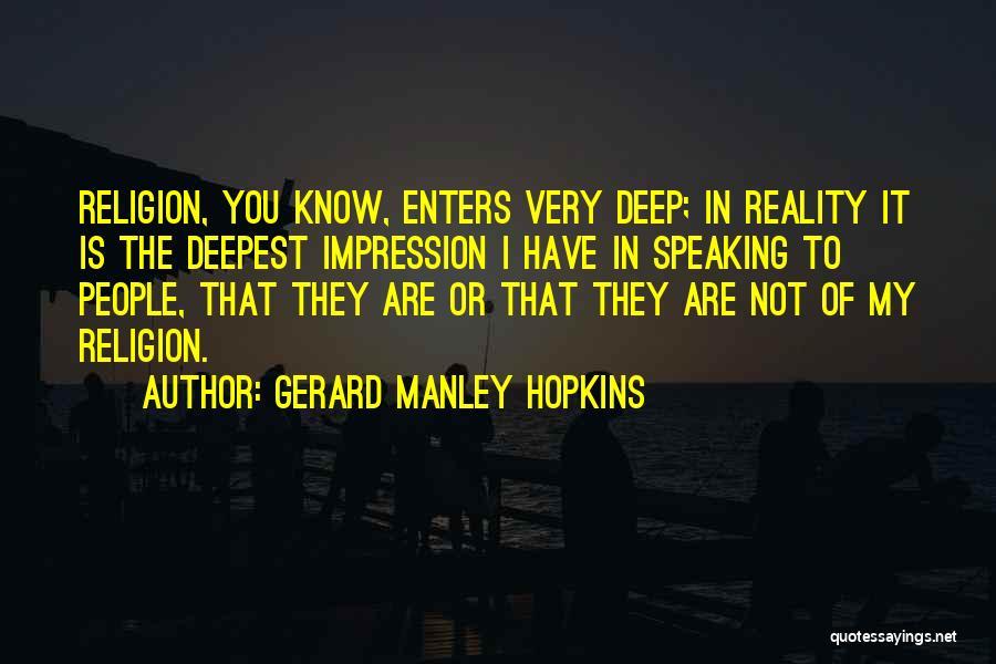 Gerard Manley Hopkins Quotes 559300