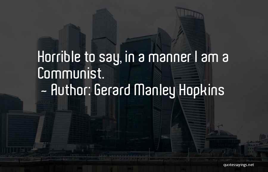 Gerard Manley Hopkins Quotes 621225