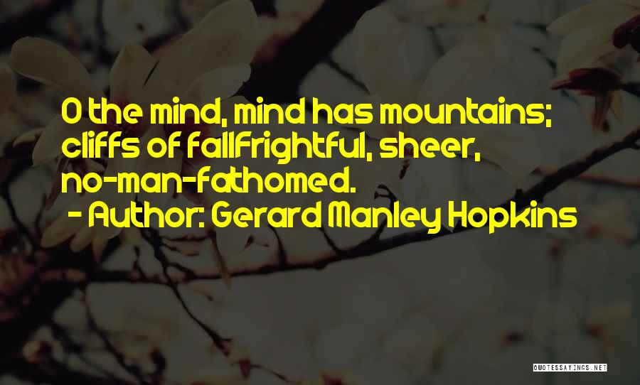 Gerard Manley Hopkins Quotes 651270