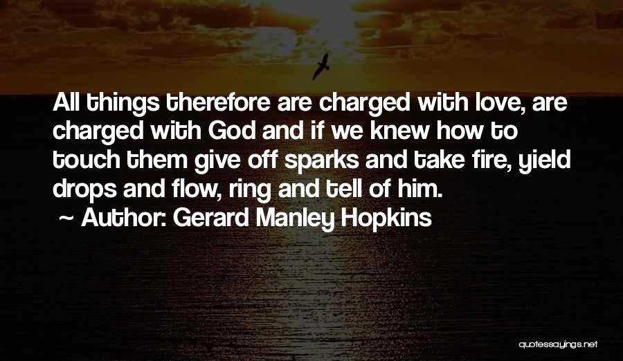 Gerard Manley Hopkins Quotes 695909