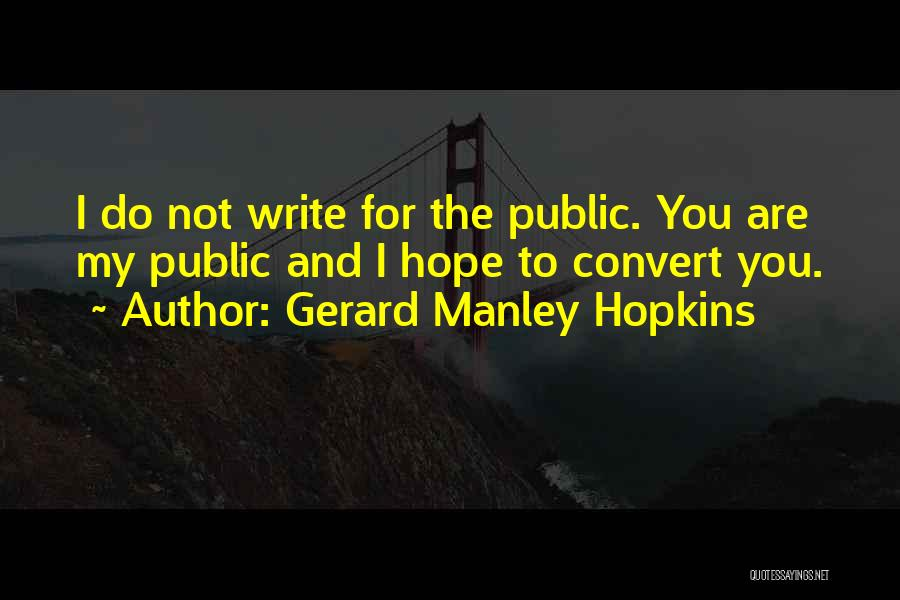 Gerard Manley Hopkins Quotes 962118