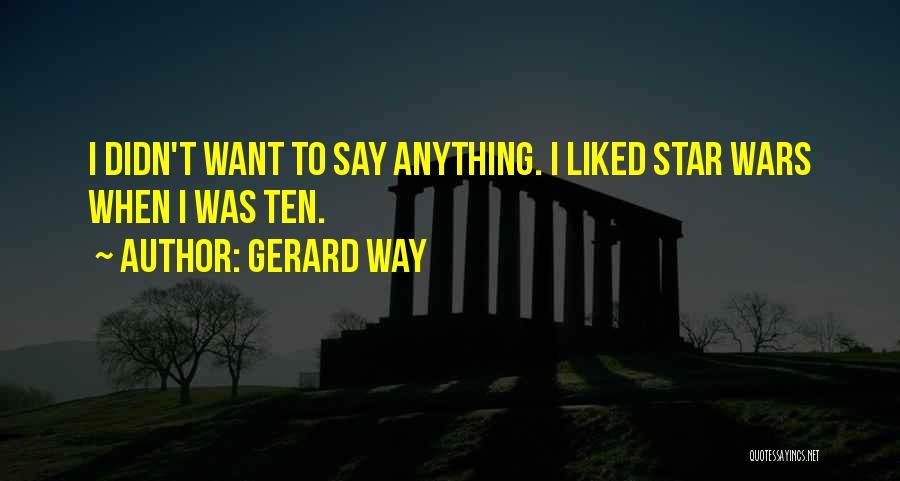 Gerard Way Quotes 1093419