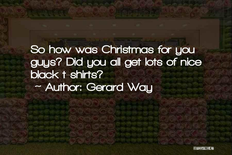 Gerard Way Quotes 1709634