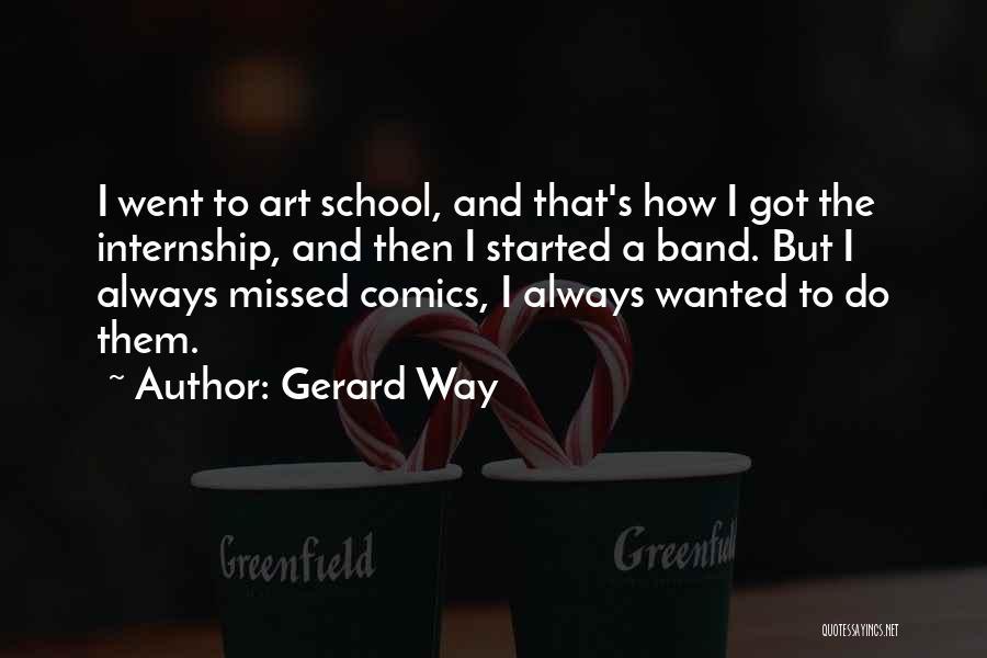 Gerard Way Quotes 1984186