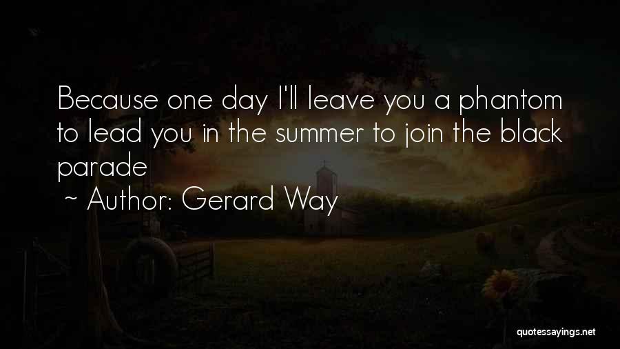 Gerard Way Quotes 1985440