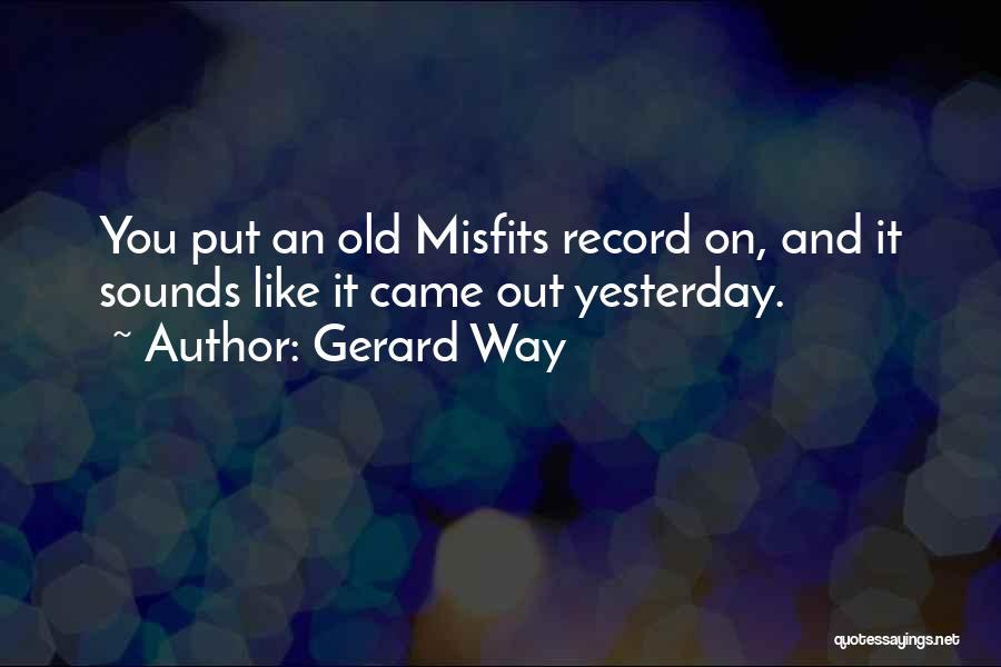 Gerard Way Quotes 2040798