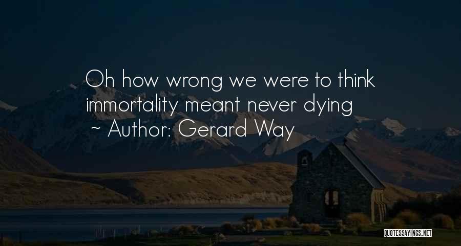 Gerard Way Quotes 727972