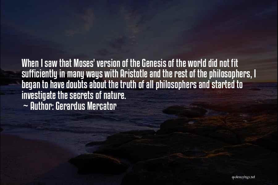 Gerardus Mercator Quotes 2173863