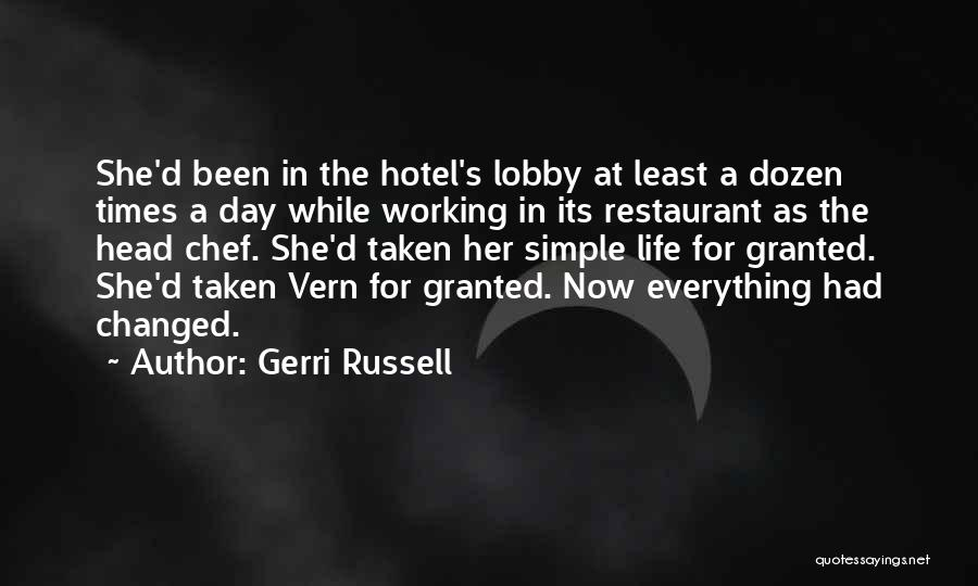 Gerri Russell Quotes 292689