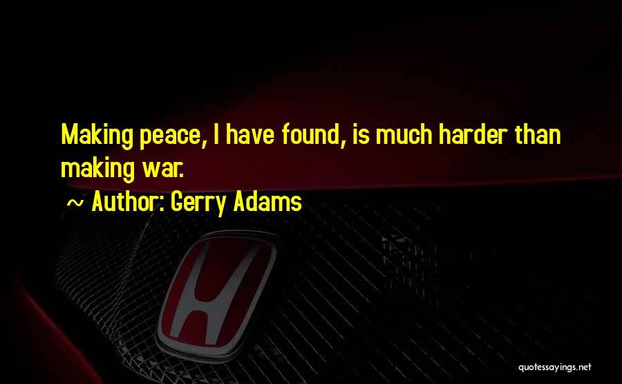 Gerry Adams Quotes 265072