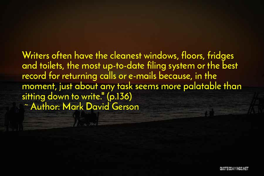 Gerson Quotes By Mark David Gerson