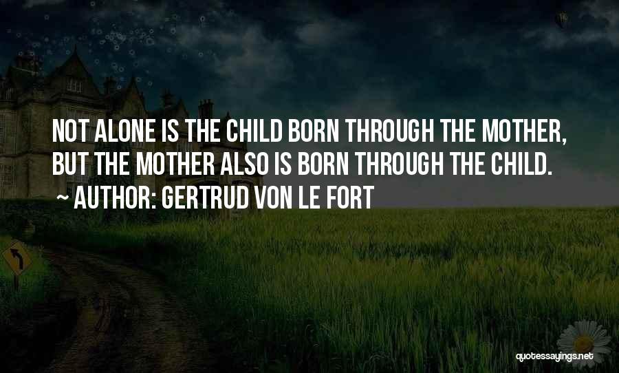 Gertrud Von Le Fort Quotes 1875836
