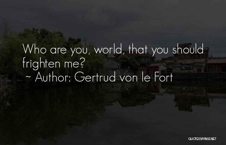 Gertrud Von Le Fort Quotes 1952984