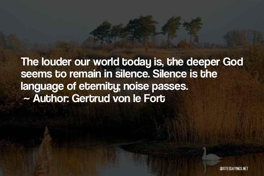 Gertrud Von Le Fort Quotes 2101220