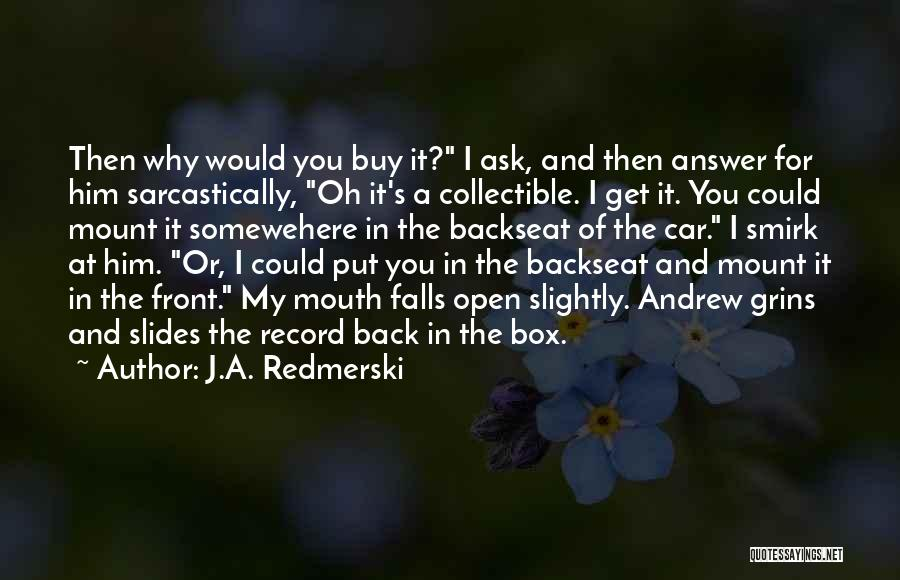 Get A Car Quotes By J.A. Redmerski