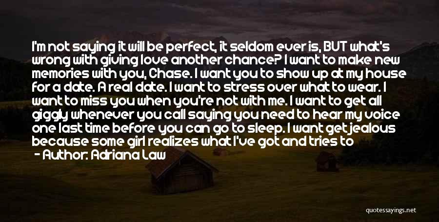 Get Better My Love Quotes By Adriana Law