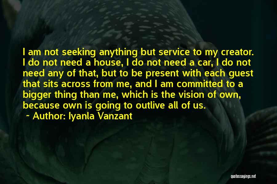 Get Car Service Quotes By Iyanla Vanzant