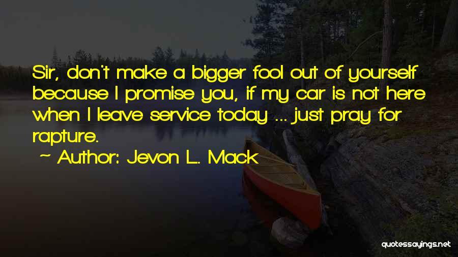 Get Car Service Quotes By Jevon L. Mack