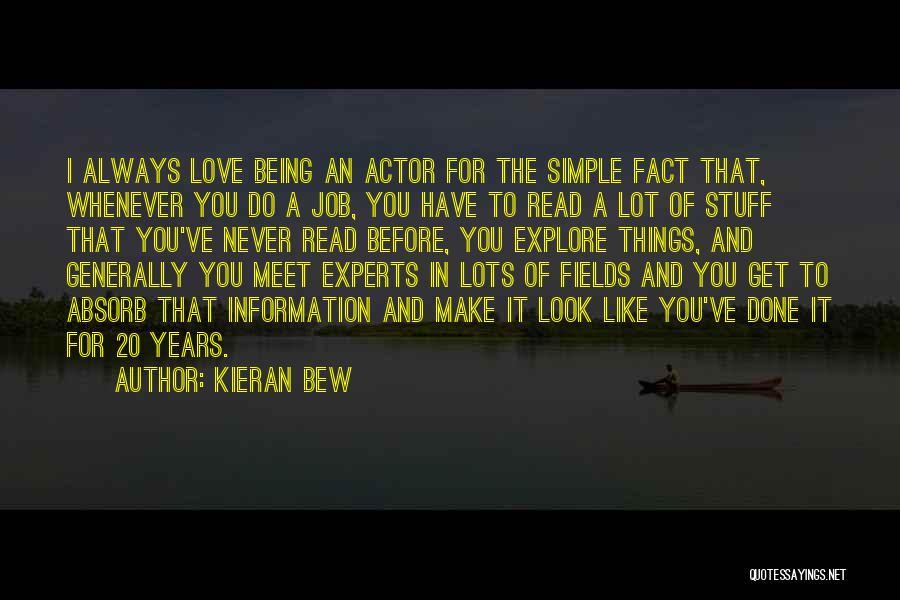 Get Job Done Quotes By Kieran Bew