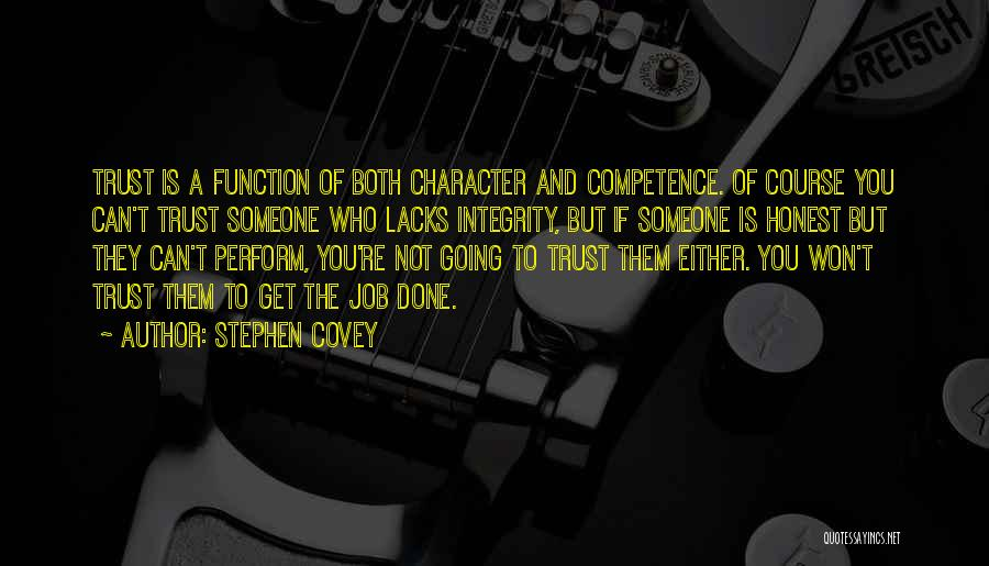 Get Job Done Quotes By Stephen Covey
