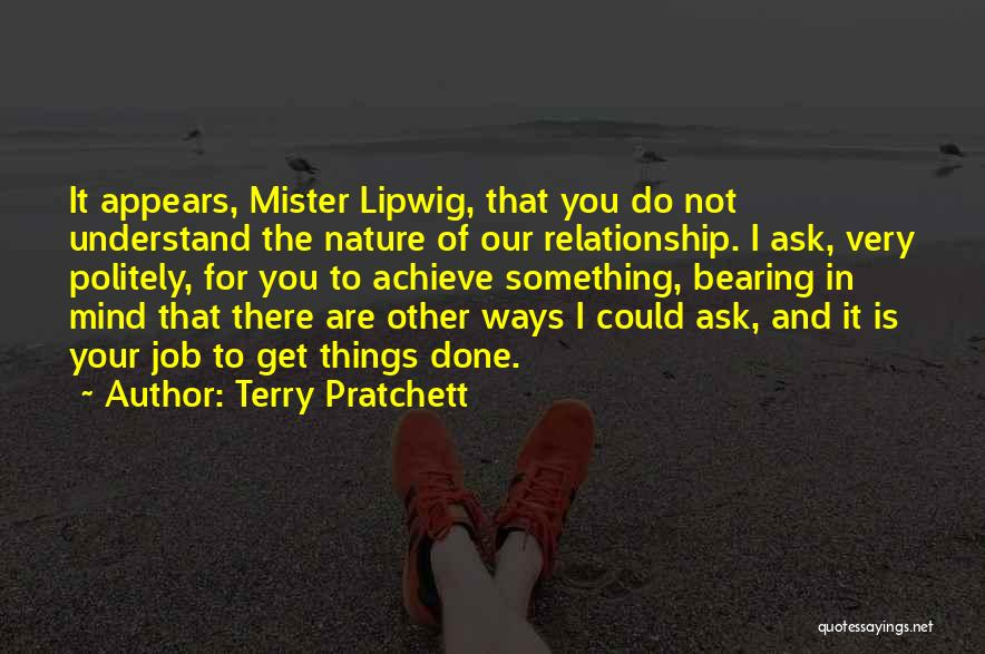Get Job Done Quotes By Terry Pratchett