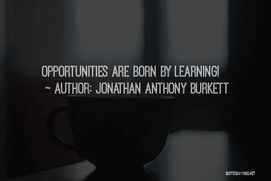 Get Money Twitter Quotes By Jonathan Anthony Burkett