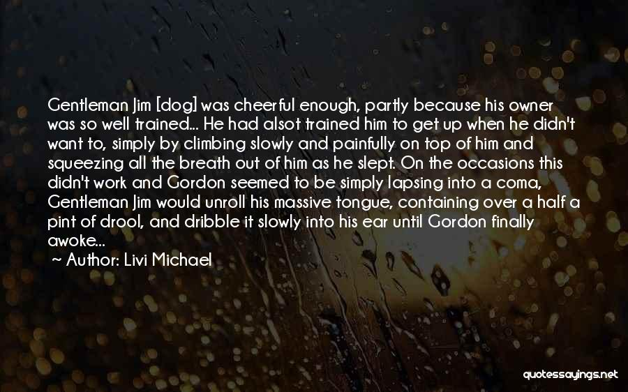 Get Over Him Quotes By Livi Michael
