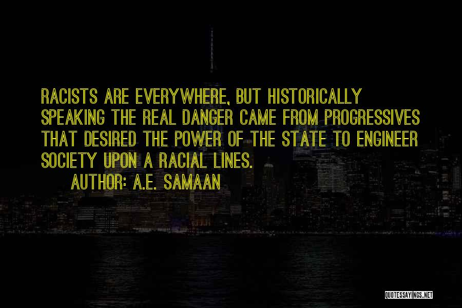 Get Over Racism Quotes By A.E. Samaan