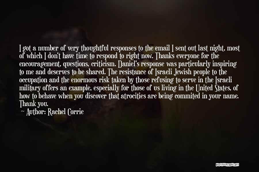 Get Over Racism Quotes By Rachel Corrie