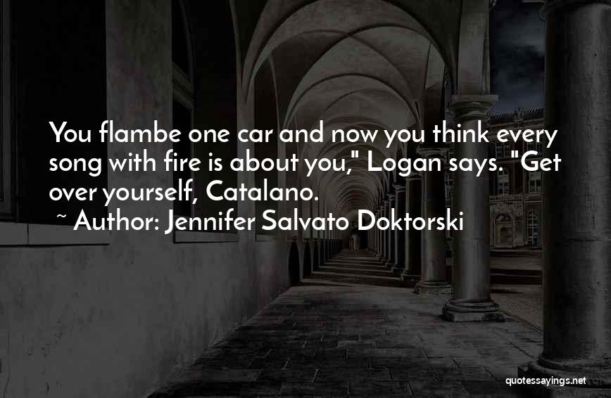 Get Over Yourself Quotes By Jennifer Salvato Doktorski