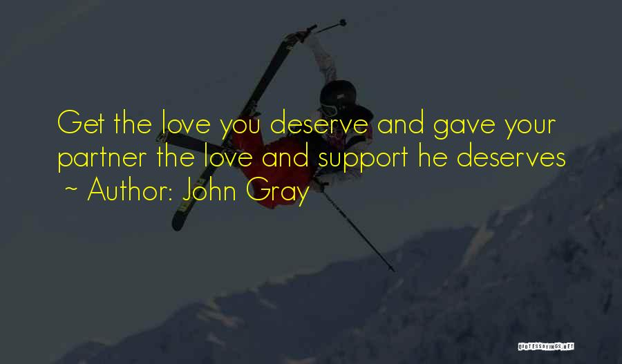 Get Support Quotes By John Gray