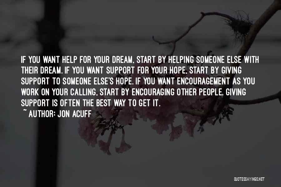 Get Support Quotes By Jon Acuff