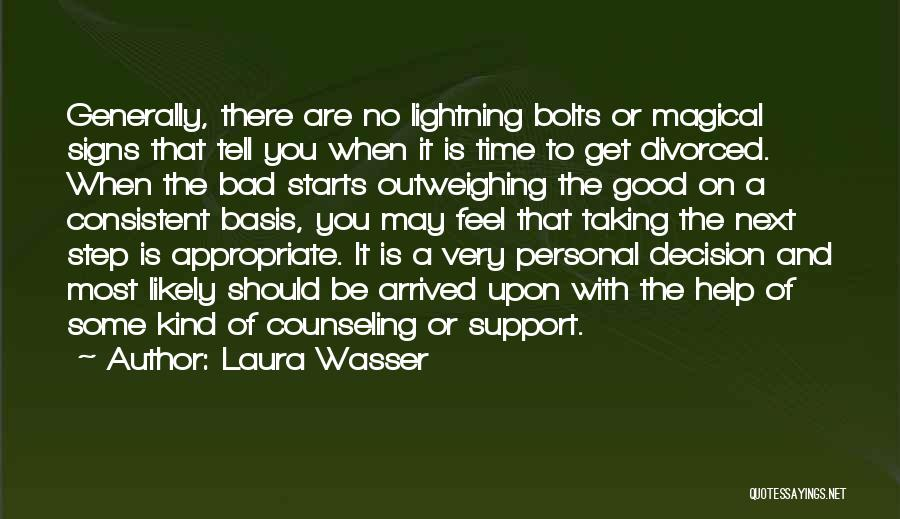 Get Support Quotes By Laura Wasser