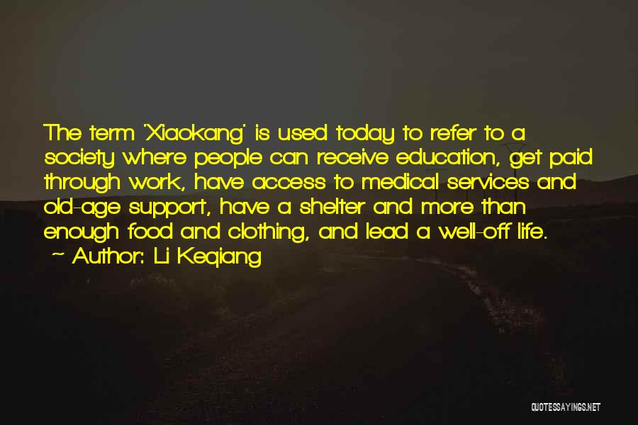 Get Support Quotes By Li Keqiang