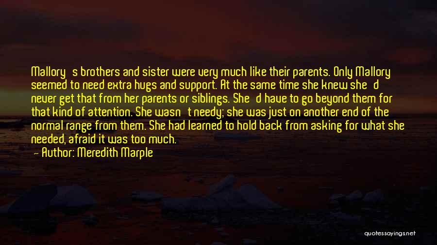 Get Support Quotes By Meredith Marple