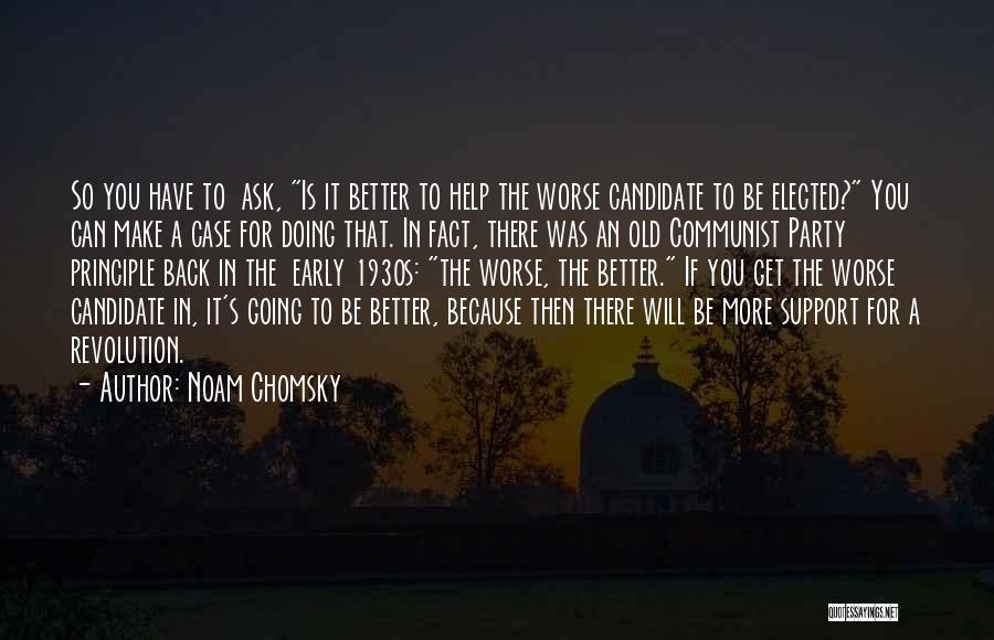 Get Support Quotes By Noam Chomsky