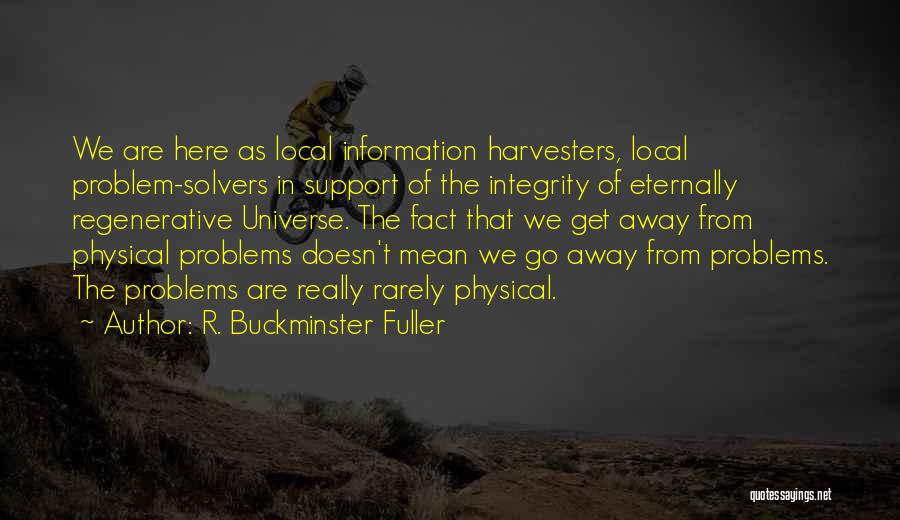 Get Support Quotes By R. Buckminster Fuller