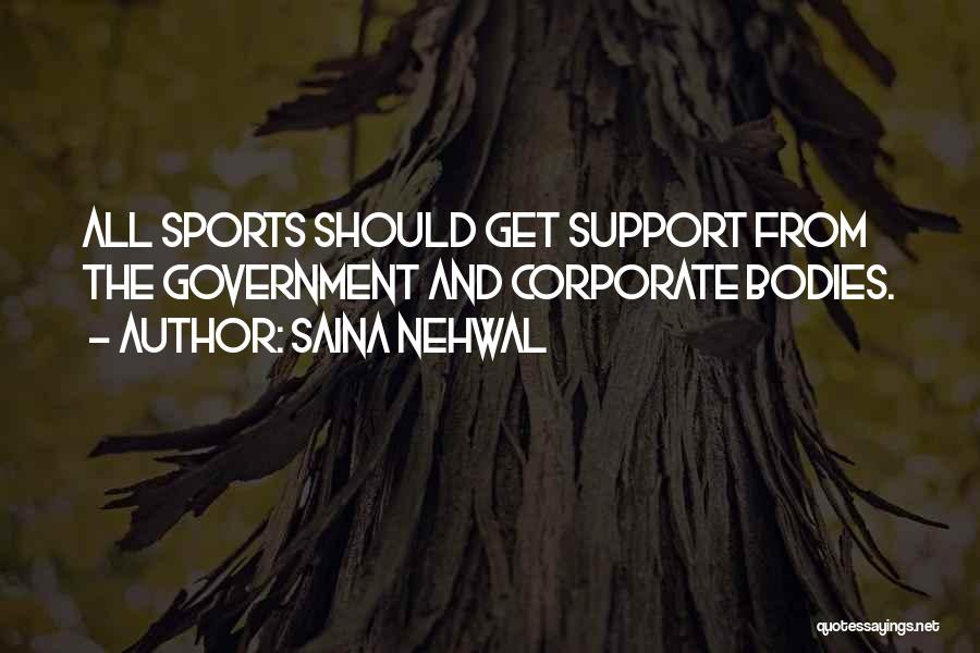 Get Support Quotes By Saina Nehwal