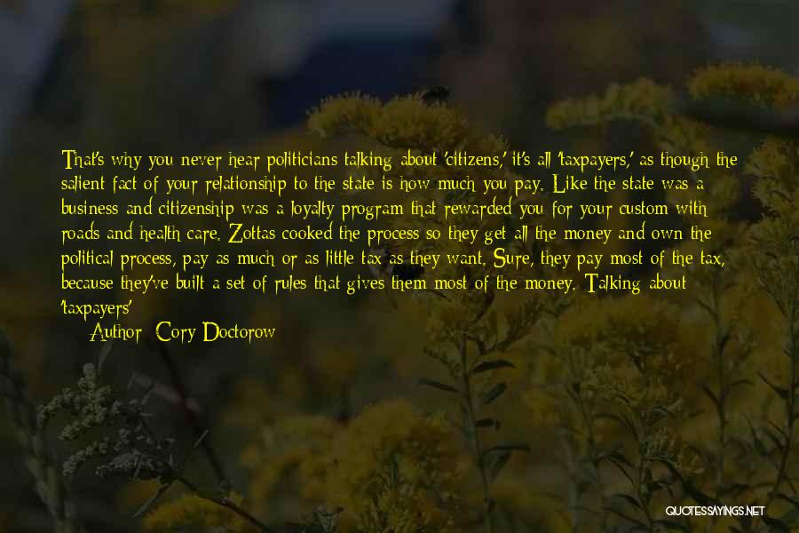 Get The Money Quotes By Cory Doctorow